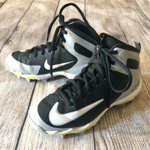 Nike Alpha Huarache Keystone Mid Cleats - Youth